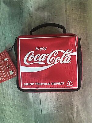 coca cola lunch box with cool gel pack