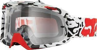 NEW Fox Air Space Cauz MX Goggles White/Clear Adult from Westside Motorcycles