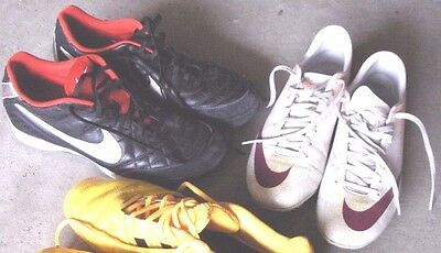 2-Nike Soccer cleats lot- Size US 9