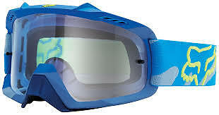 NEW Fox Air Space Camo MX Goggles Blue Adult from Westside Motorcycles