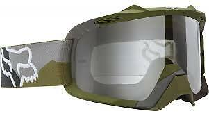 NEW Fox Air Space Camo MX Goggles Green Adult from Westside Motorcycles