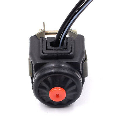 """7/8"""" Kill Stop Handlebar Control  Switch Horn Button For Motorcycle Quad ATV New"""