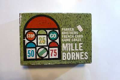 1962 Mille Bornes French card Game Incomplete