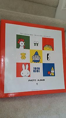 Vtg Collectible New  Miffy The Rabbit  / Dick Bruna Japanese Baby/Photo Album