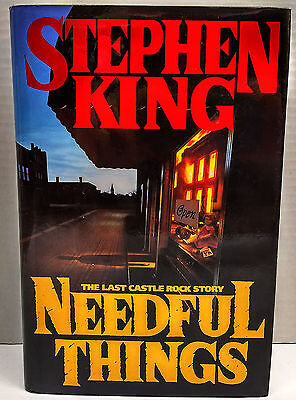 Needful Things by Stephen King, True 1st Edition (1991, Hardcover)