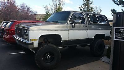 1989 GMC Other  1989 GMC Jimmy Blazer