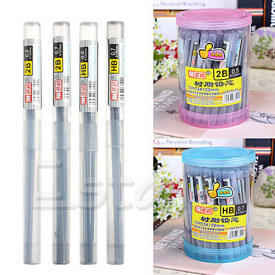 Fashion Style 2B HB Lead a Refill Tube 0.5 mm / 0.7 mm Automatic Pencil Lead