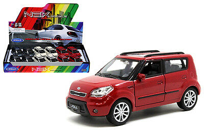 KIA Soul 1:34-1:39 DIECAST Car Cream / Blue Gray/ Red Model COLLECTION New Gift