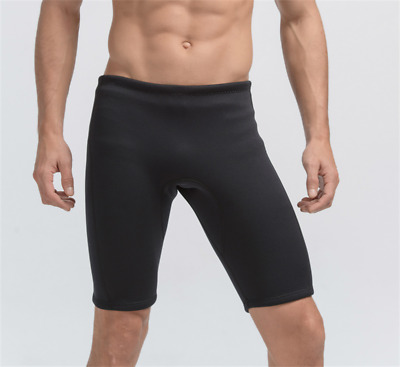 3mm Coldproof Black Neoprene Wetsuit Shorts Pants Surfing Board Diving Plus Size