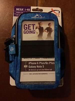 Armpocket Mega I-40 Armband For iPhone 6 Plus & Galaxy Note 5 Brand New (medium)