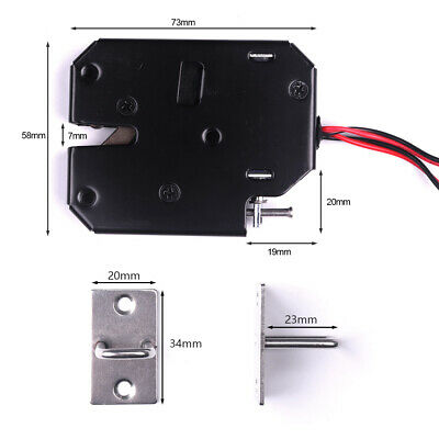 150KG/330lb Holding Force Electric Magnetic Lock for Door Access Control DC 12V