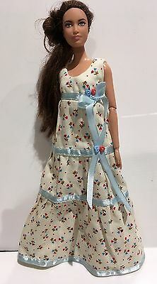 OOAK Australian Made - Dress for Barbie Fashionista Dolls - Doll Clothes