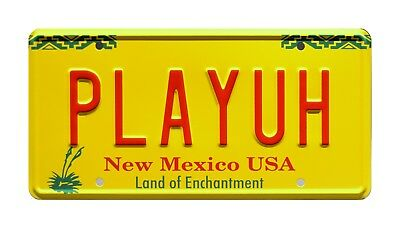 Better Call Saul | Bob Odenkirk | Hummer | PLAYUH | STAMPED Prop License Plate