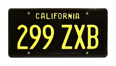Agents of SHIELD | Ghost Rider Charger | 299 ZXB | STAMPED Prop License Plate