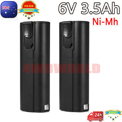2X 6V 3.5Ah Ni-Mh Battery For Paslode IM50 404717 900600 902200 900400 700P IM65