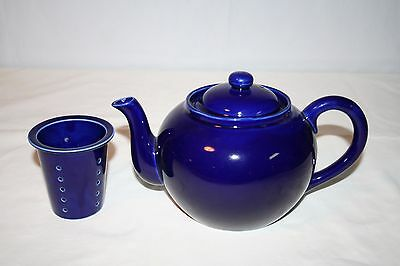 Cobalt Blue Teapot with Lid and Infuser HIC Japan