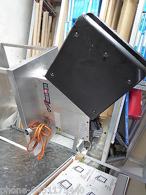 Pizza Bag Warmer On Stainless Steel Stand Pizza Box Warmer Used