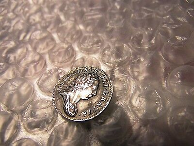 Great Britain 1762 Maundy Threepence George lll Silver Coin
