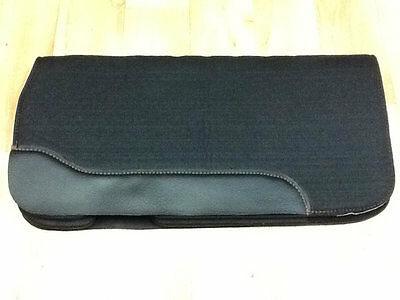 Western Felt Saddle Pad with Spine Relief Ventilation Holes