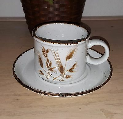 Midwinter Stonehenge 'Wild Oats CUP AND SAUCER FINE CONDITION