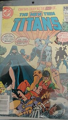The New Teen Titans #2 (Dec 1980, DC)