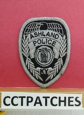 Ashland, Kentucky Police Badge (Small) Shoulder Patch Ky