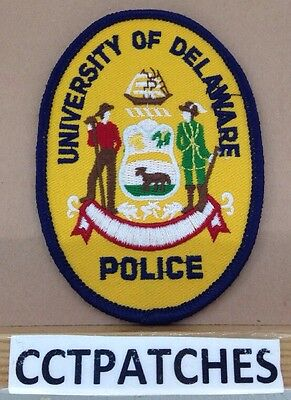 University Of Delaware Police Shoulder Patch De