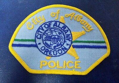 City Of Albany, Oregon Police Shoulder Patch Or