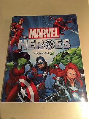 Woolworths Marvel Heroes Super Disc Folder *NEW* No discs included