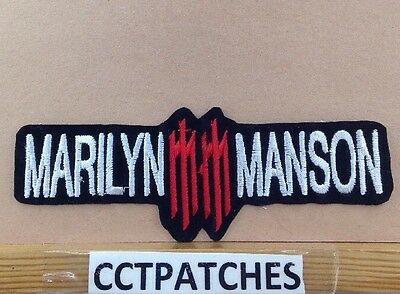 Marilyn Manson Rock Band Patch