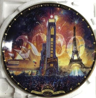 Tribute 2000: Millennium Around the world collection (Bradford Exchange)