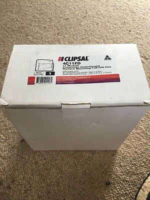 Clipsal Switchboard Enclosure 4C11Fd