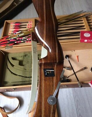 Original Border Archery Full Bow with Box and Accessories