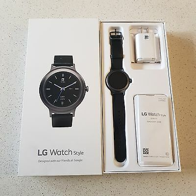 Lg Watch Style Titanium (Android 2.0 Smart Watch)