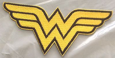 WONDER WOMAN MOTIF IRON OR SEW ON BUY 2 We Send 3 Of These