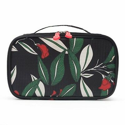 Cosmetic Case Bag Make Up With Brush Compartment For Travel Makeup Organizer