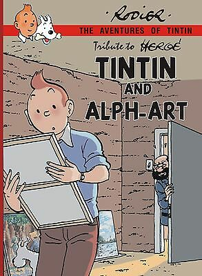 Tintin and Alph-art color parodie Rodier in english tribute to Hergé
