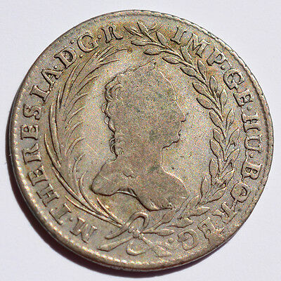 RDR, Österreich, Maria Theresia, 20 Kreuzer 1763, A8918