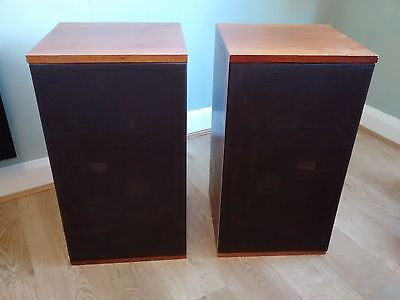 B&W DM2 SPEAKERS  pair with instruction manual and test certificate