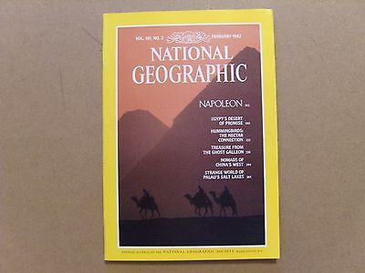 National Geographic Magazine - February 1982 - See Images For Contents