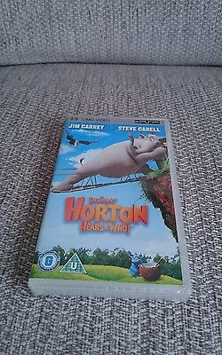 Dr Seuss Horton Hears A Who! -*- Psp -*- Umd -*- New And Factory Sealed -*-