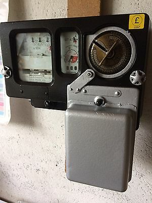 Electric New/old ££££ /euro Coins Kwh Meter