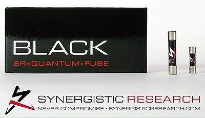Synergistic Black - Audiophile High End Main Fuse 13a