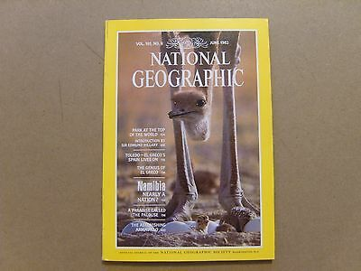 National Geographic Magazine - June 1982 - See Images For Contents