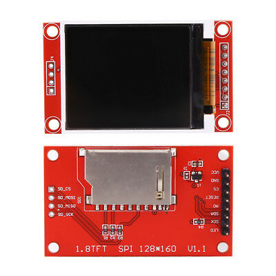 "1.8"" TFT LCD Color Display Module SPI ST7735S with PCB 51/AVR/STM32/ARM 8/16 bit"