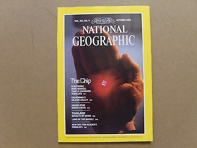 National Geographic Magazine - October 1982 - See Images For Contents