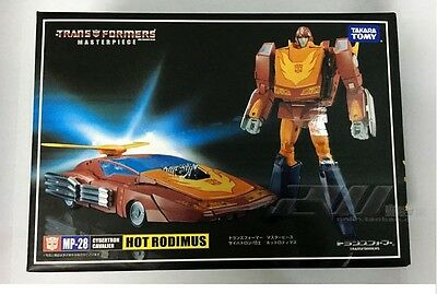Transformers Action Figure MP28 Hot Rodimus G1 Masterpiece Toy With Matrix
