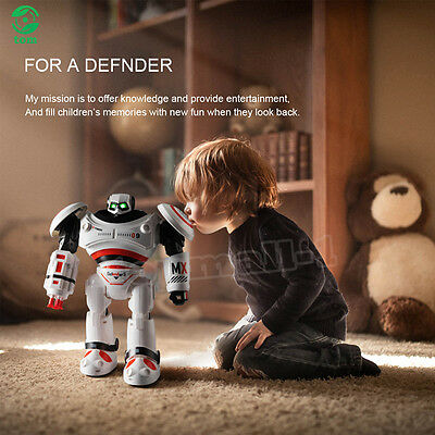 Remote Control Walking Dancing Music Light Smart Programmable Humaniod Toy Gift
