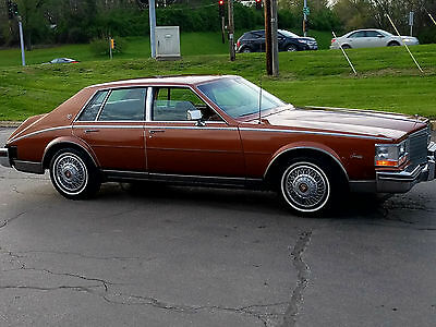 1984 Cadillac Eldorado seville 1984 cadillac seville 52000 miles with working AC and velour seats