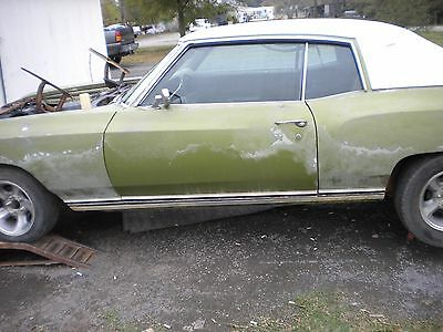 1971 Chevrolet Monte Carlo Monte Carlo 1971 Chevy Monte Carlo not running has engine and transmission needs tune up